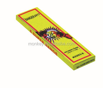 Buy K0203-6 Bangs Match Cracker Fireworks for whole sale