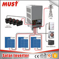 MUST brand China Popular low frequency pure copper transformer solar inverter