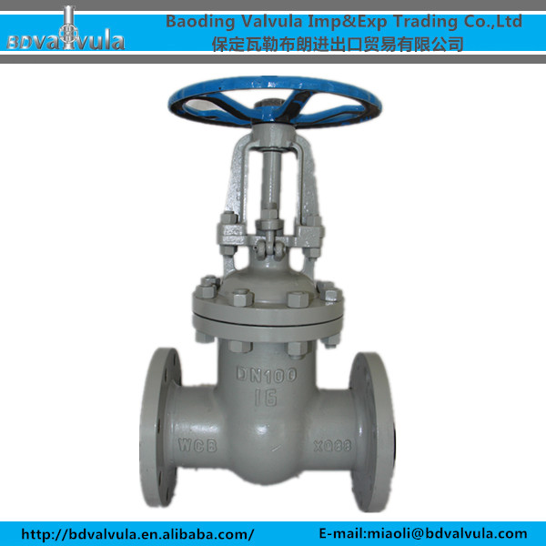 Cast iron BS 5163 Non Rising Stem Gate Valve