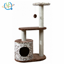 2017 hot sell Wholesale Cat Tree House Cat Scratching Tree Climbing Sisal Cat Tree Amazon hot