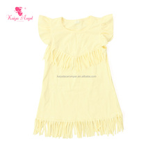 wholesale kids clothing girl summer dress simple cotton frocks designs boutique new model girl dress