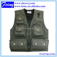 Men Clothing Winter Fishing or Photography outdoors Vest