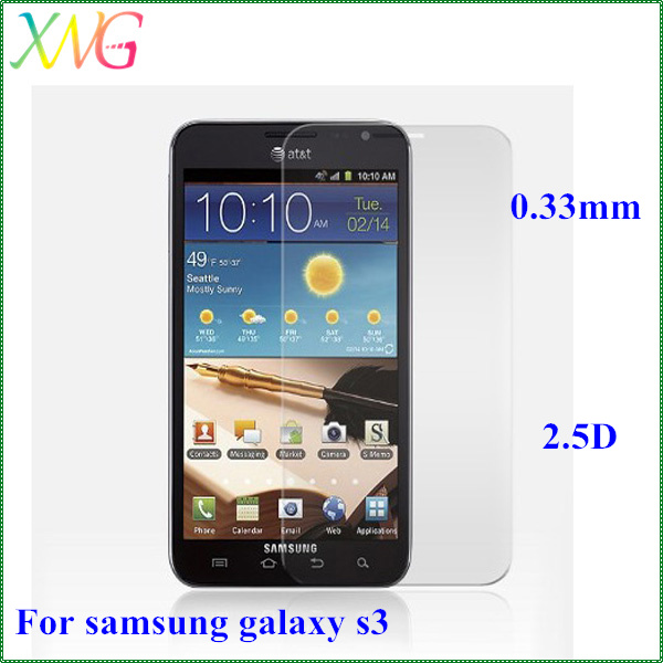 Premium 98% transparency Ultra clear empered glass protective film for samsung galaxy s5 i9600 screen guard