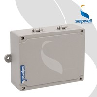Saipwell SP-AG-FA8 180*140*55mm IP66 Customized Aluminum Electronic Enclosures Junctin Box Waterproof Project Enclosure