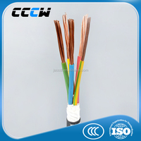 low voltage XLPE insulated PVC sheathed four / five core power cable