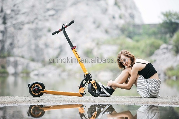 Top quality INOKIM foldable adult mini electric kick scooter light
