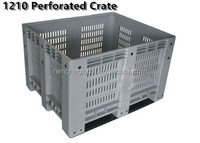 1200X1000X760mm perforated HYH plastic wine bottle crate