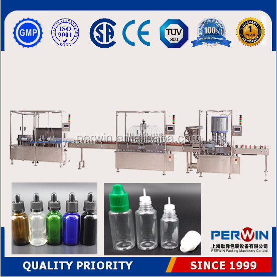 PLC controlled vial filling machine,automatic filling machine e-cig oil 50ml