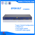 2 PON PORT EPON OLT Layer 2 Switching 4K VLAN, QinQ, Spanning Tree