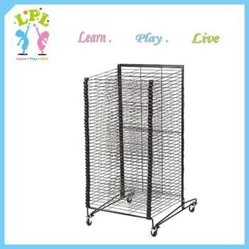 40 layers steel material eco friendly school professional paper drying rack