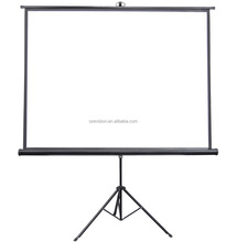 Portable Tripod Stand Circular Projection Screen