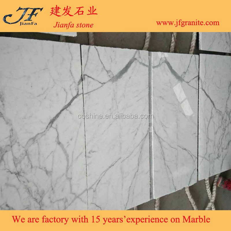 Luxury building statuario venato marble price of italian statuario marble