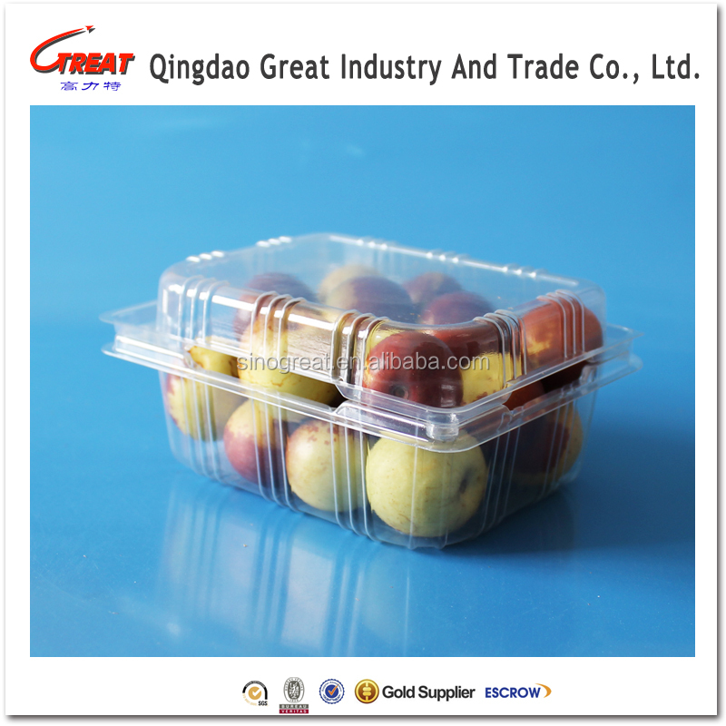 2017 disposable Fresh fruit packaging tray for blueberry /strawberry