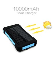 10000mah batetries rechargeable portable batteries solar charger 10000MaH