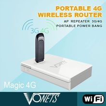 Portable 300Mbps zte ac30 3g wifi hotspot router(gsm & cdma) with power bank, 3G/4G router funtion