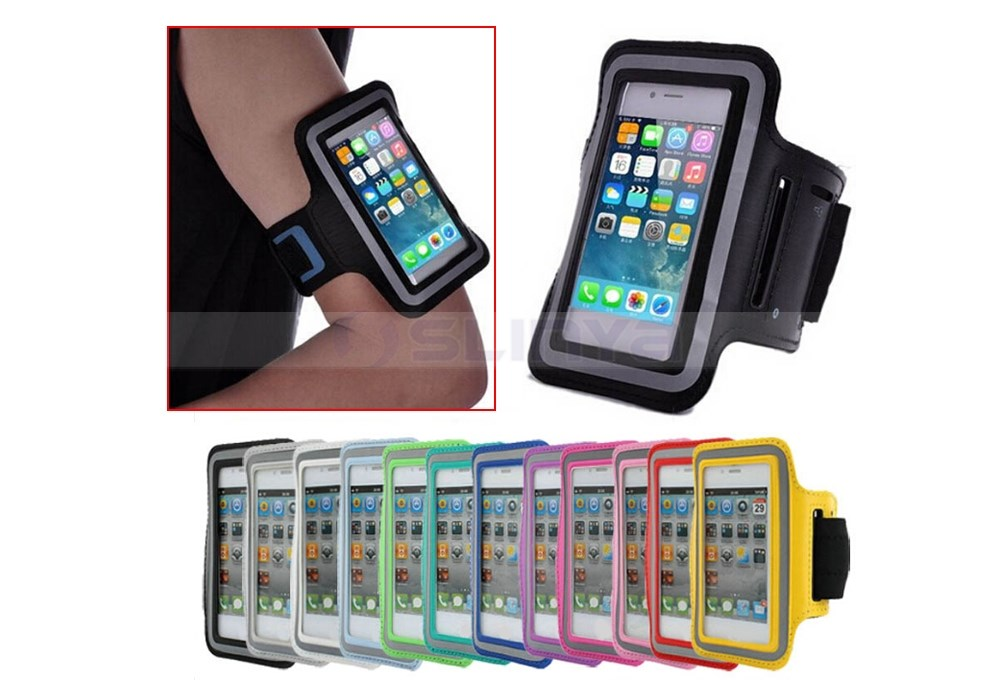GYM Running Sport Pouch Case For iPhone Arm Band Durable Waterproof Phone Bag Cases Cover