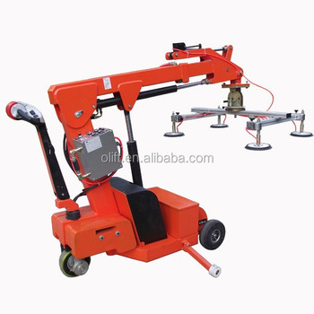 2500mm 350kg durable strong rubber plate vacuum glass lifter