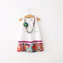 branded cotton simple design dress for girls