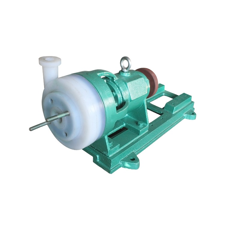 50FSB-25 Full Fluoroplastics Single Stage Small Centrifugal Alloy Slurry Sludge Impeller Pump Suppliers