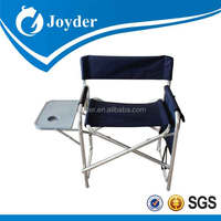 Fashion branded JD-3007 lightweight metal director chair with cheap price