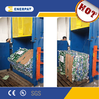 Aluminum Cans Baler for sale/ Scrap metal baler machine with CE