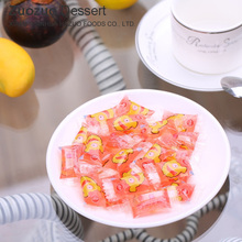 100g sugar coated soft candy jelly made in China