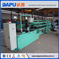 Full automatic chain link fence machine diamond mesh machine