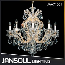 Fancy Big Luxury European Style Clear K9 Crystal Chandeliers Lighting for Project/Home