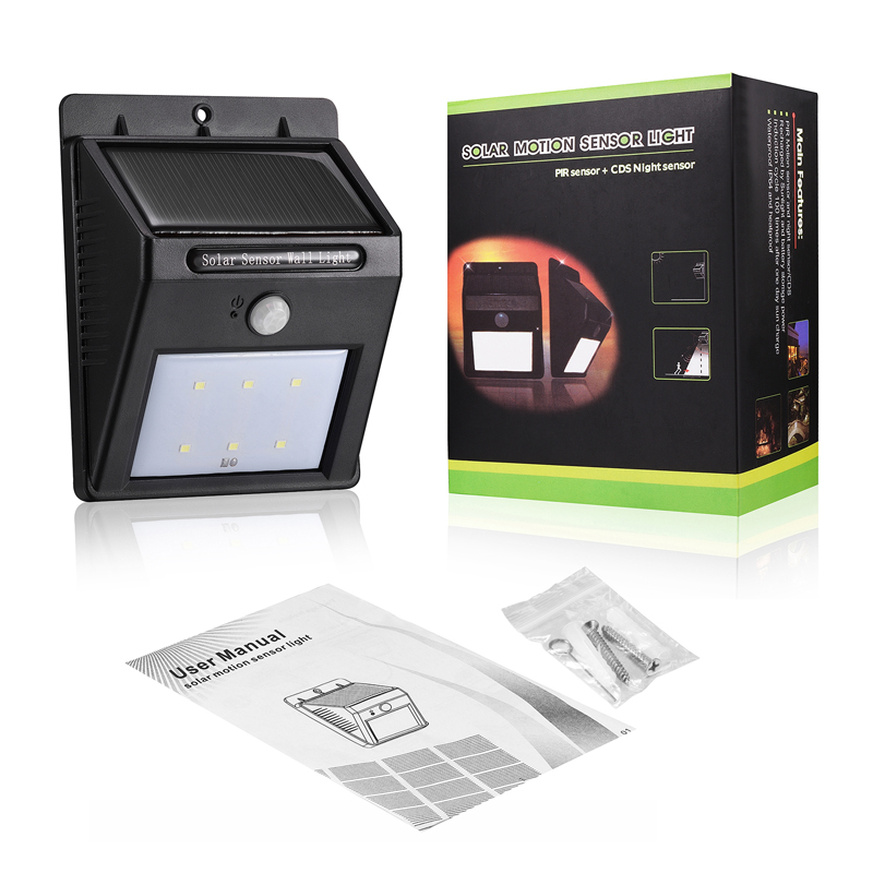 Solar Compound Waterproof Outdoor Up and Down Wall Light