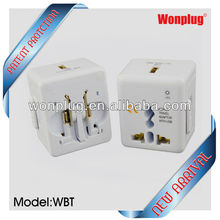 2013 mini size travel adapter plug with usb for your best traveling