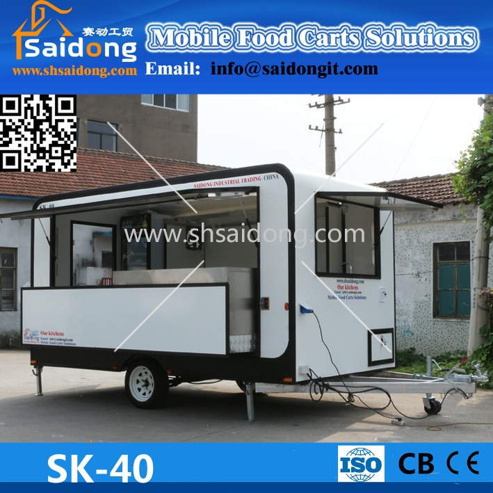 Sell Car Wash Cart /Mobile Food Trailer/Van For Sale In All Over The World