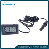 Lcd mini thermometer h0t8w mini digital thermo hygrometer for sale