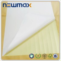 cast coated hot melt press sensitive adhesive sticker paper