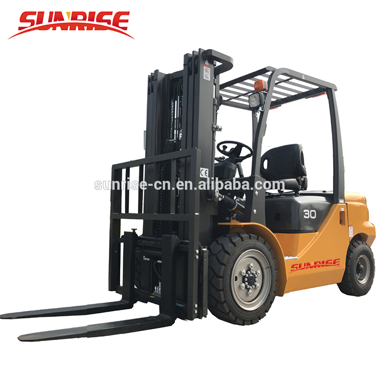 FD30 3ton Diesel Forklift Truck With Cheap Price