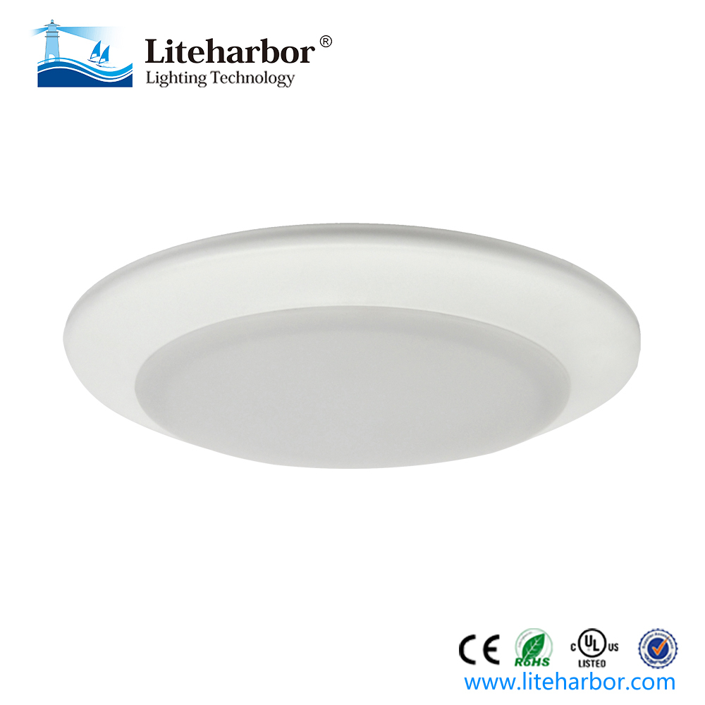 ETL listed 110/120V line voltage 4 inch 6 inch SMD3030 downlight retrofit series intertek led disk light