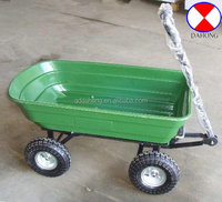garden tool cart, garden cart with four wheels,TC2145 PLASTIC TRAY