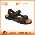 2014 summer brand new leather men sandal shoes