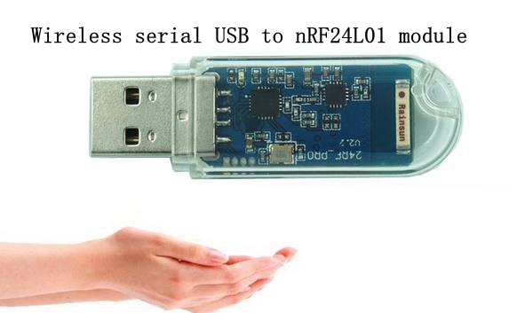 nRF24L01 Wireless serial USB to nRF24L01 module communication data transmission remote module