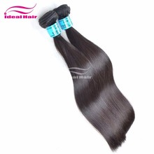 High quality fashion no chemical processed natural virgin chinese straight hair