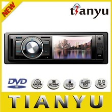 inch Car DVD Player with Radio/Disc/BT/TV/iPod/USB/SD/Video/Audio/Aux/Wheel control