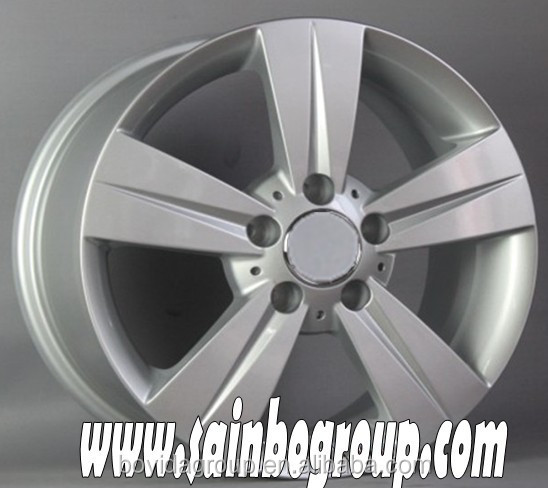Various style silver pain vacuum chrome alloy wheel with factory price F326