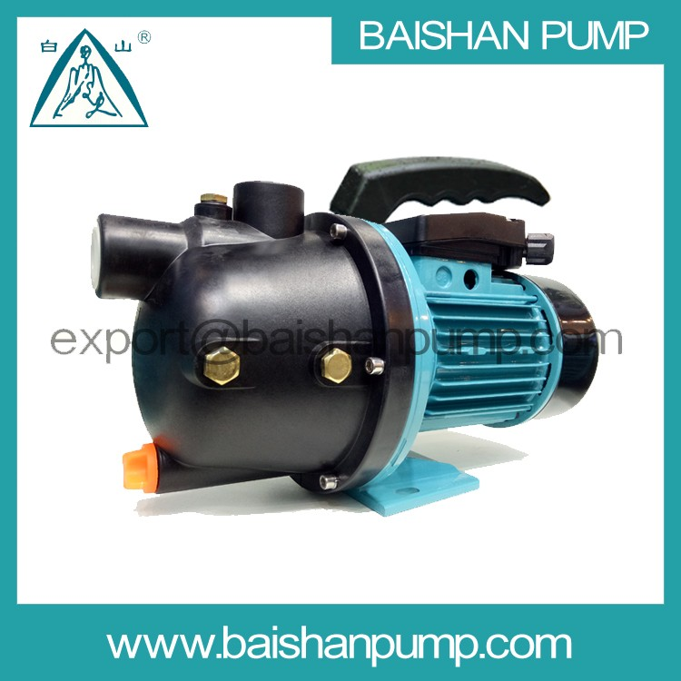 Solar power system home use self-priming water pump with plastic handle