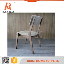 Cheap solid bent wood dining chair furniture/Comfortable Malaysia style bent wood chair