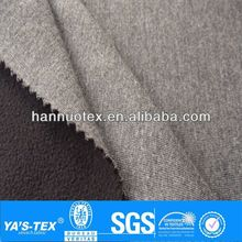 100 polyester knit jersey bonded fleece fabric