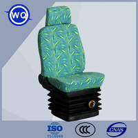 PVC/Cloth Mechanical suspension reclining boat seat for sale