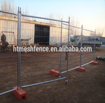 Construction Site Standard hot dipped galvanized welded removable temporary panel fence
