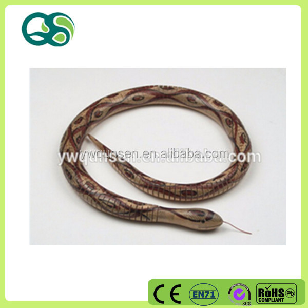 Wholesale chromatic wood decorative snake