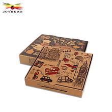 "New Design Printing High Quality 22"" Pizza Boxes, Cheap Wholesale Custom Corrugated Pizza Packaging Box"