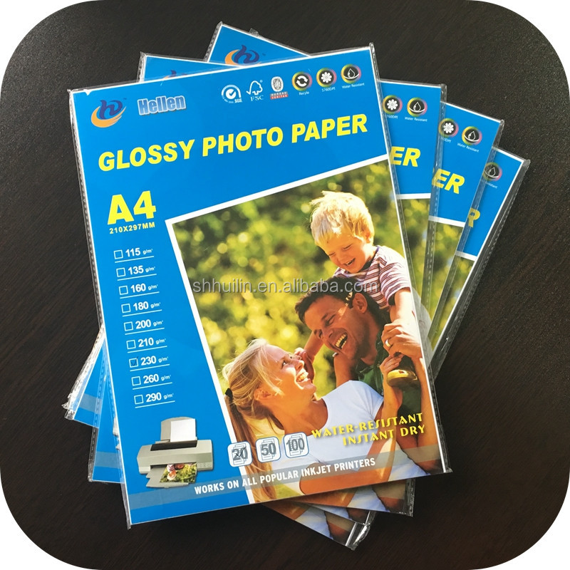 A3 200gsm Glossy Photo Paper/Inkjet Photo Paper