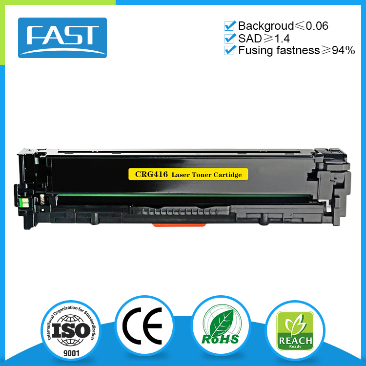 New compatible color toner cartridge CRG416 for Canon iC-MF8010